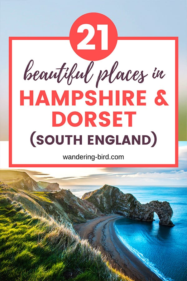 Planning a south England road trip? Looking for the best places to visit in Hampshire and Dorset and itinerary ideas? Here are 21 of the best places to visit, plus a road trip itinerary and things to do at each location.