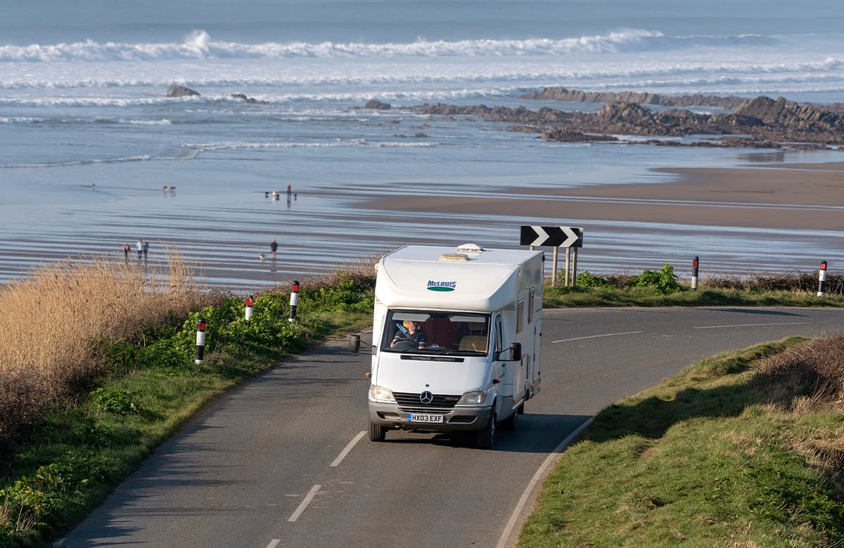 UK Motorhome holidays and motorhome route itineraries for UK England Scotland Wales