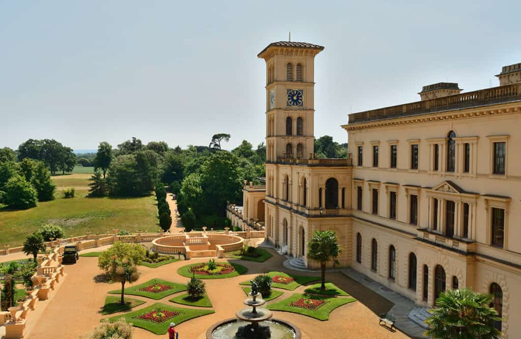 Osbourne House- Best Isle of Wight campsites and motorhome touring tips