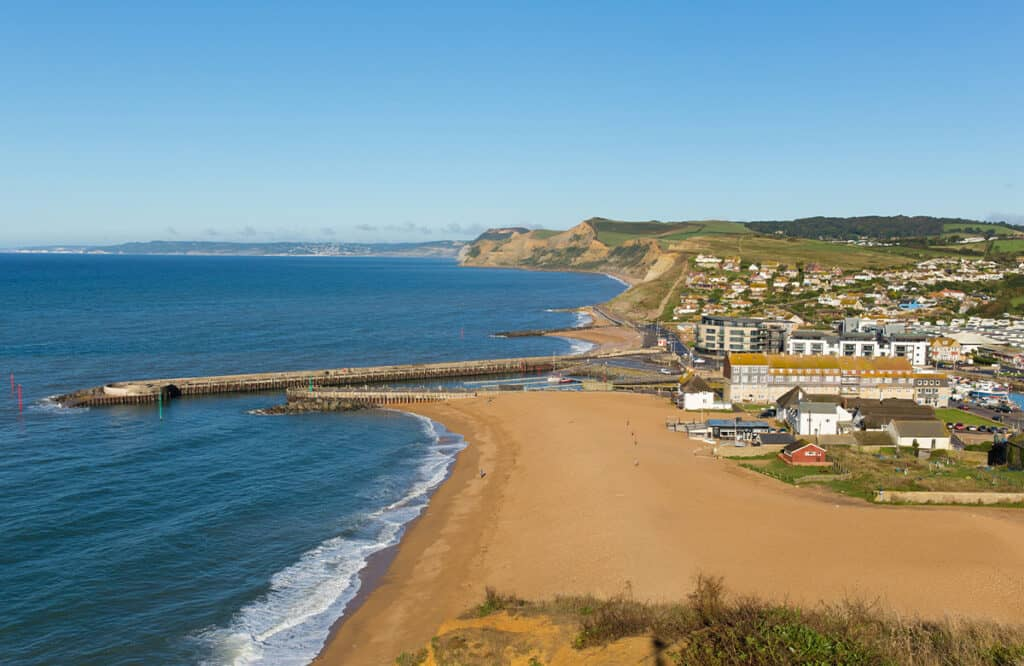 West Bay- one of the best places to visit on a Dorset Road Trip