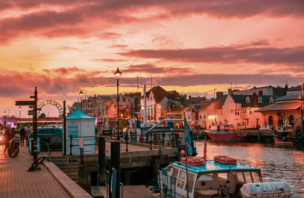 Weymouth- one of the best places to visit on a Dorset Road Trip