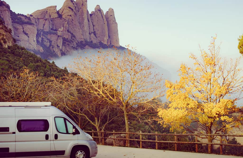 Campervanning in Spain- Catalonia