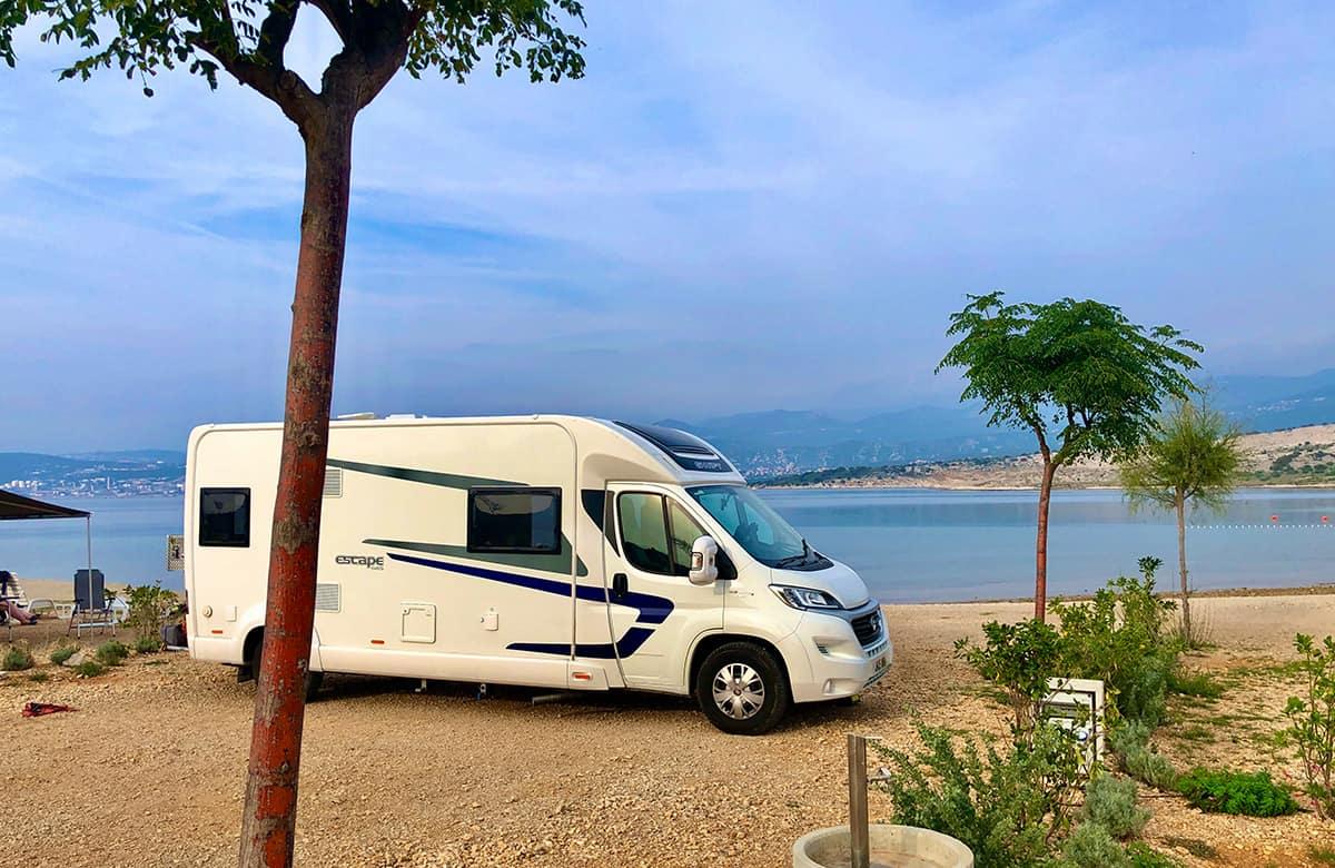 ACSI campsite in Croatia