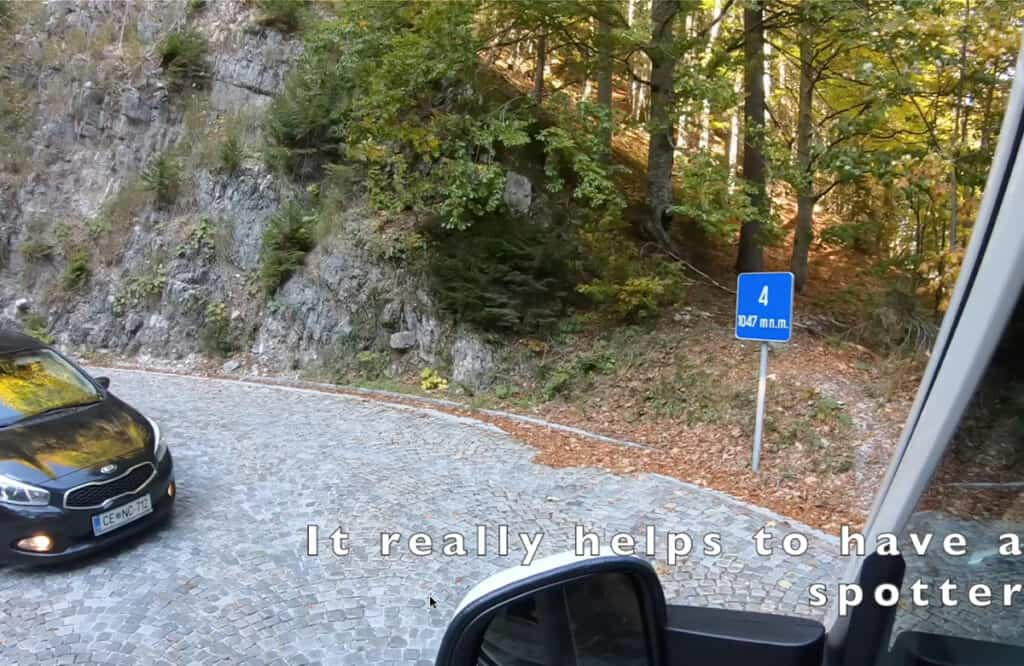 Driving the Vrsic Pass- highest mountain pass in Slovenia