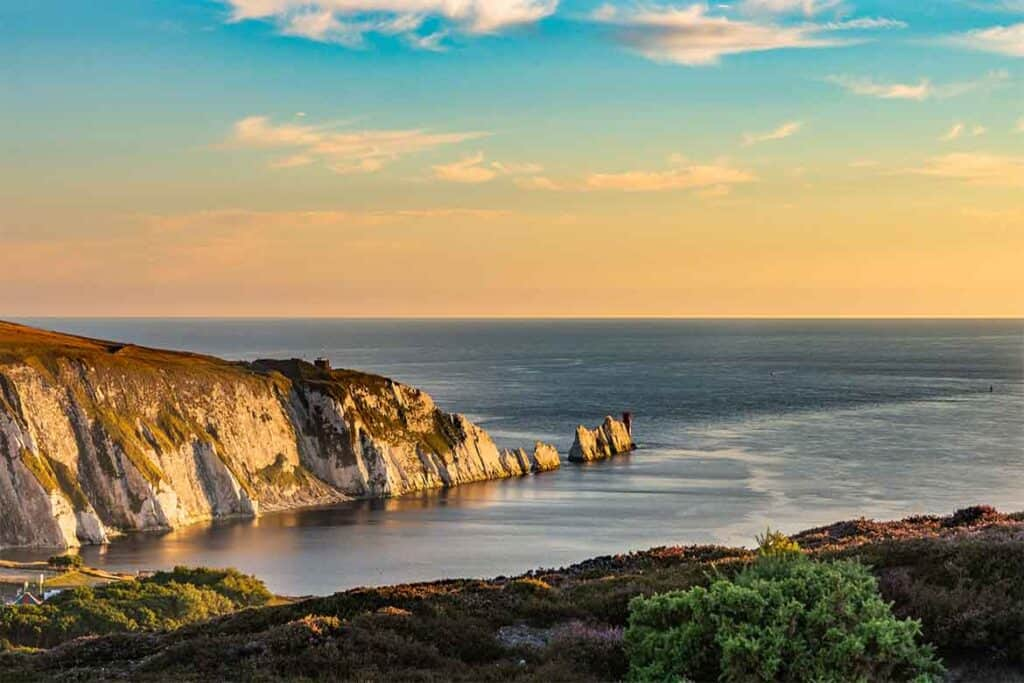 Needles, Isle of Wight- a great Hampshire road trip destination