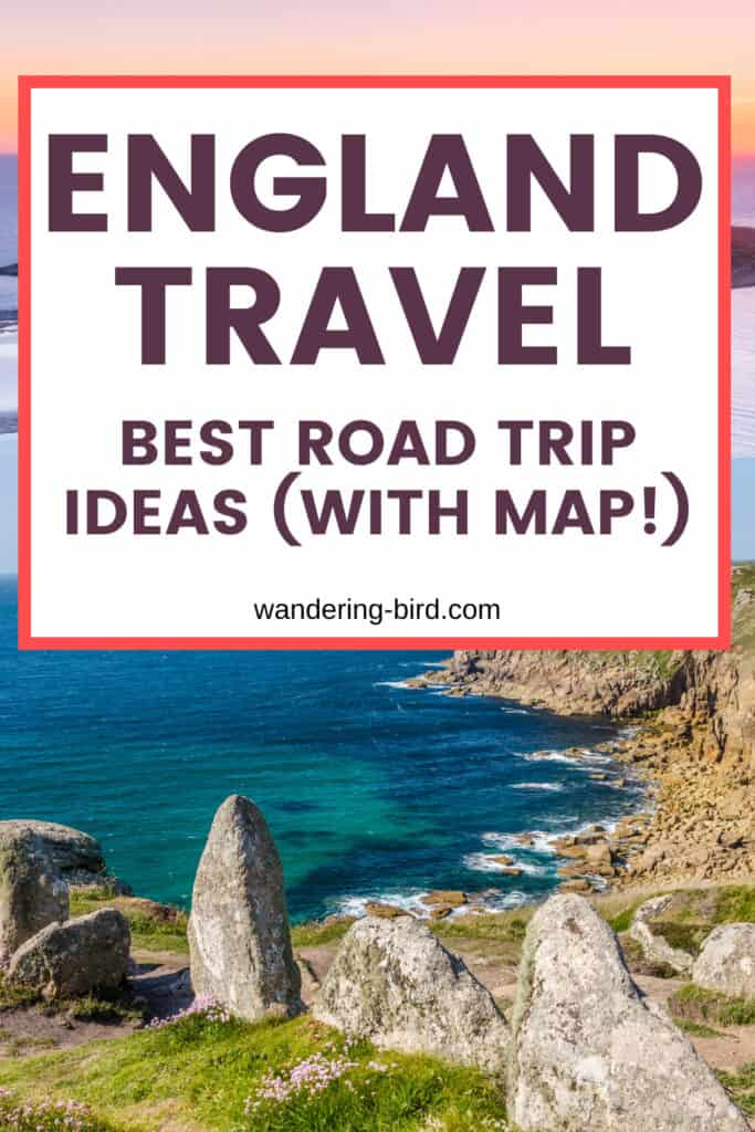 Planning England travel and road trips? Looking for itinerary ideas and the best places to visit? Here are 12 BREATHTAKING places to see in England, including Cornwall, Devon, south coast, Salisbury and the Lake District. These England travel tips are all you need to plan your perfect UK road trip itinerary.