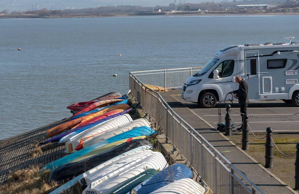 Appledore in North Devon- parking for motorhomes and campervans