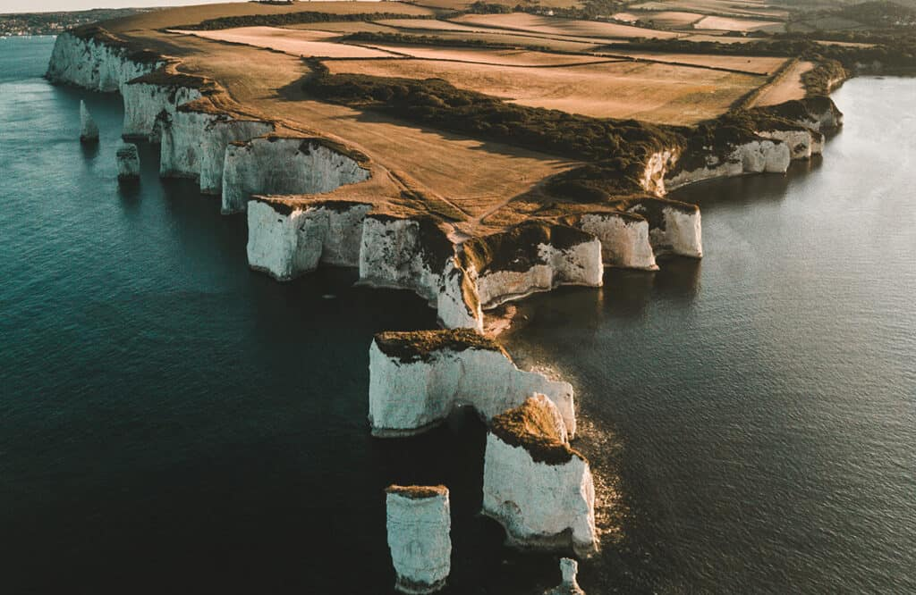 Old Harry Rocks- one of the best places to visit on a Dorset Road Trip
