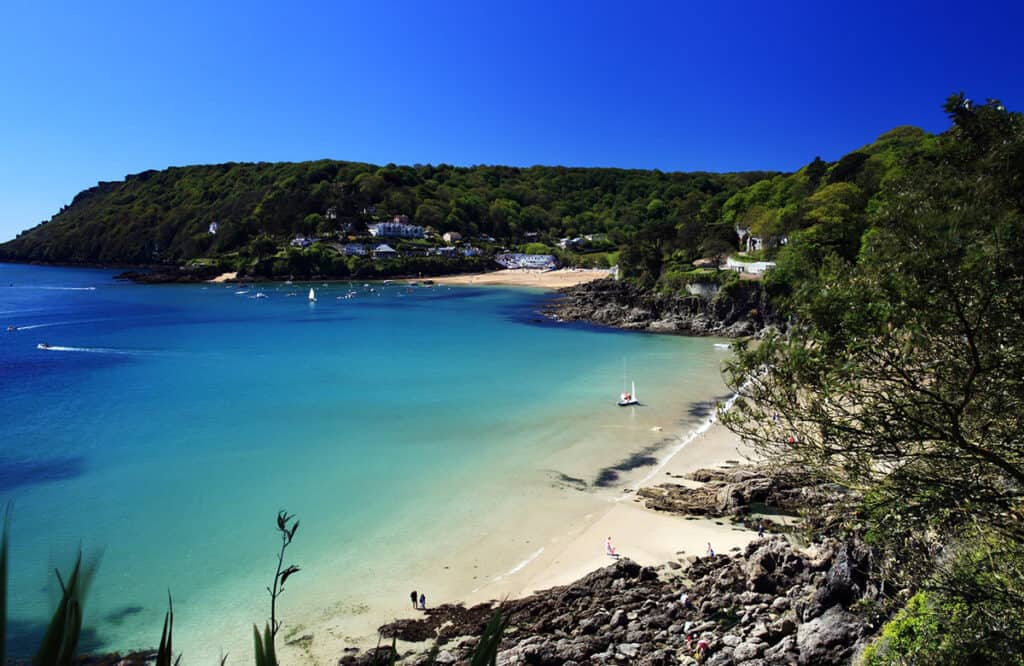 Salcombe- one of the best places to visit on a Devon road trip for a fun day out.