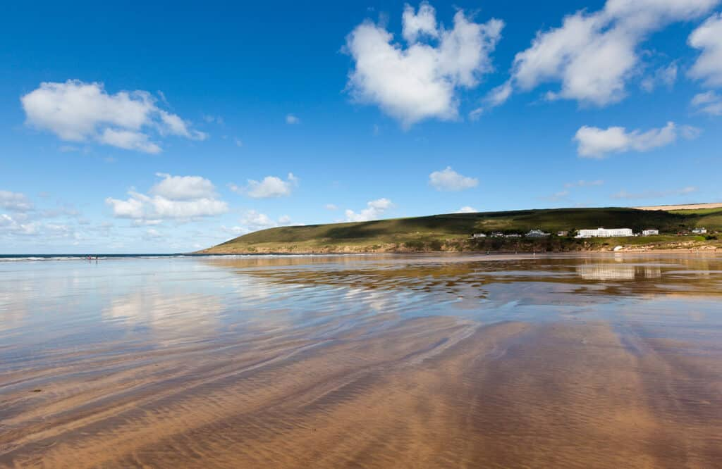 Saunton Sands- one of the best places to visit on a Devon road trip for a fun day out at the beach