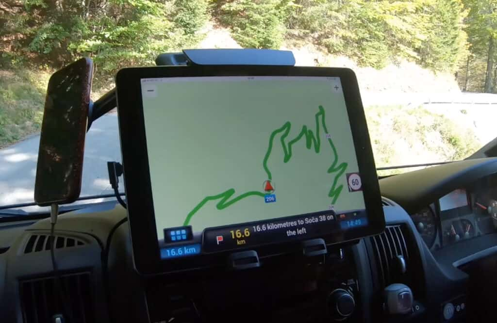 How scary is driving the Vrsic Pass?