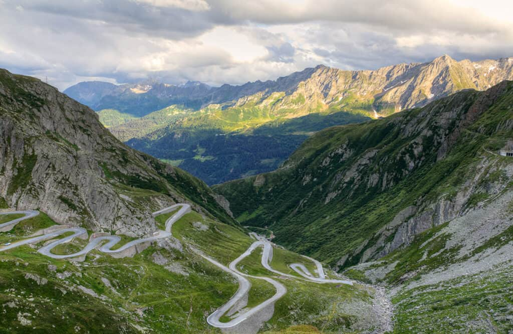 Gotthard Pass, Switzerland road trip