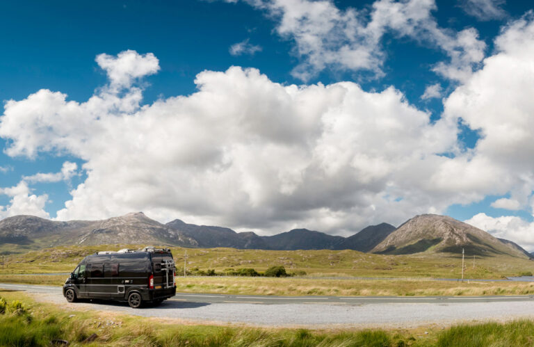 Campervanning in Ireland- Complete guide for touring Ireland in a motorhome or campervan