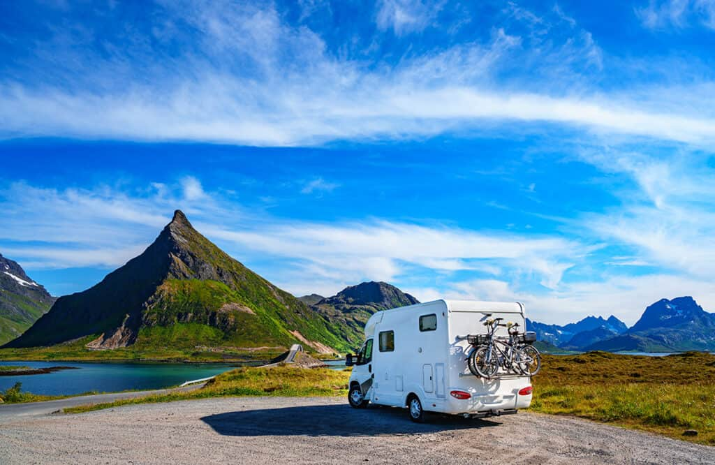 Motorhome and campervan travel and holidays in Norway