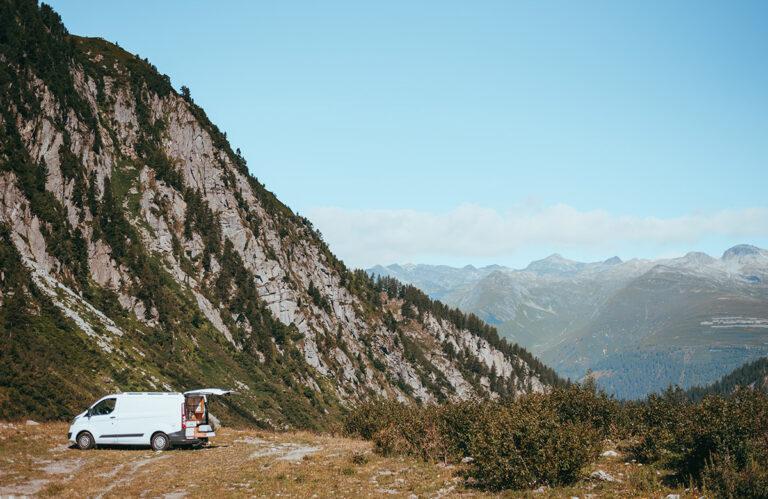 campervanning in Switzerland