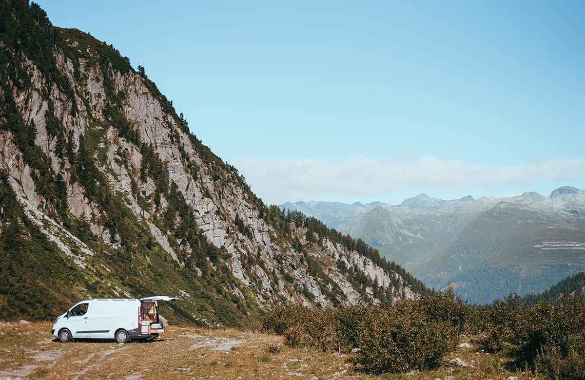 campervanning in Switzerland