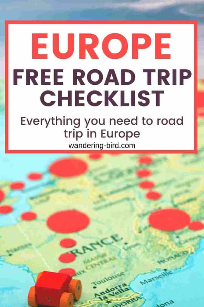 Planning a Europe road trip? Wondering what you need to be able to drive in Europe? What kit to carry and paperwork to take? Here's everything you need to know about driving in Europe, whether you're travelling by car, motorhome, campervan, caravan, bike or anything else! Don't forget to grab your FREE driving in Europe checklist to help keep you organised.