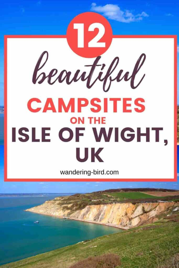 Planning a trip to the Isle of Wight with your motorhome or campervan? Looking for campsites to stay at, places to visit and tips to make the most of your Isle of Wight road trip? Here's everything you need