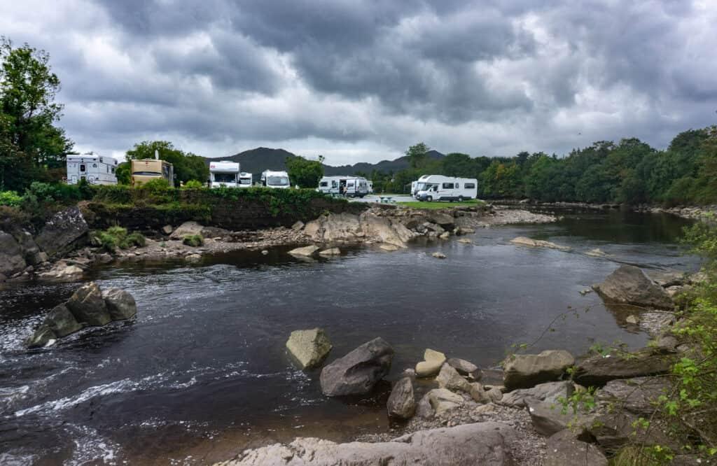 motorhome campsite in Ireland