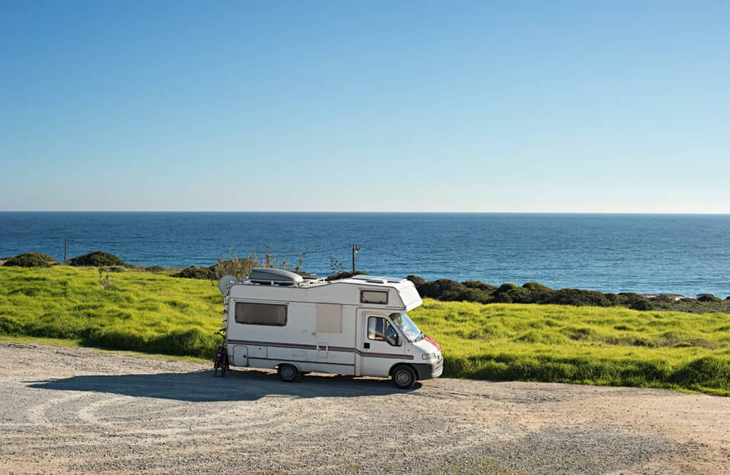 Motorhome and campervan touring holiday in Portugal