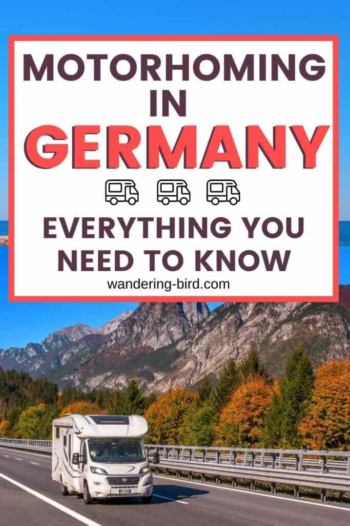 motorhoming in Germany- complete Guide