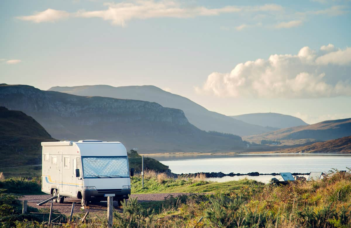 Motorhoming and Campervanning in Scotland