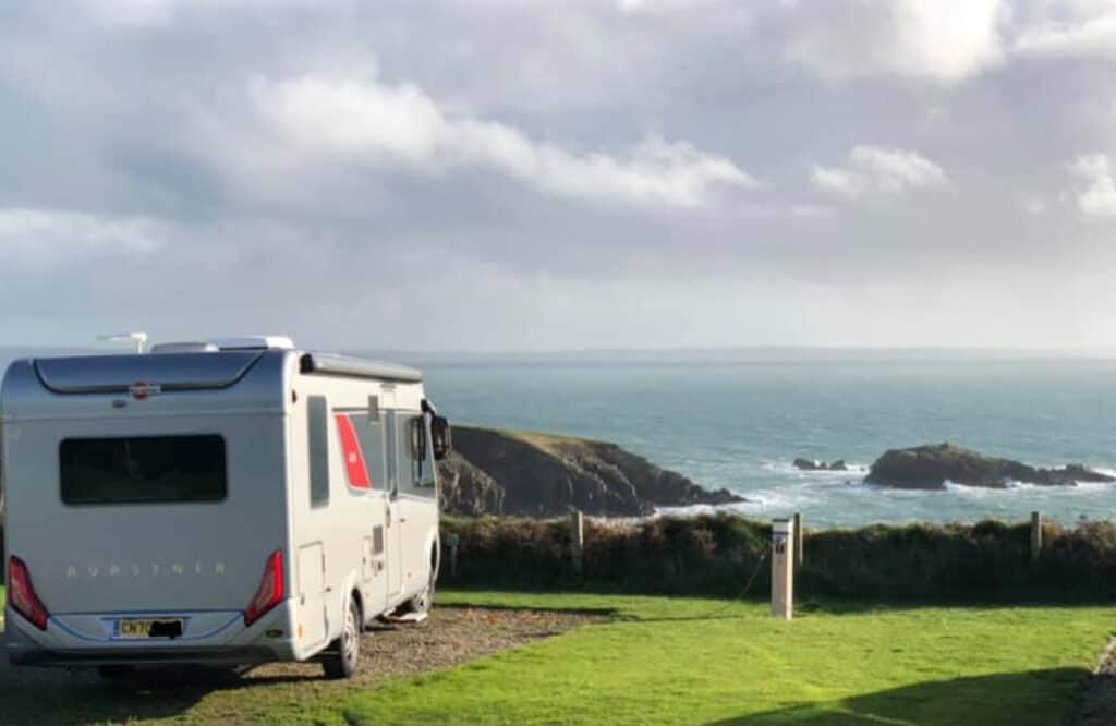 Motorhome sites in south wales