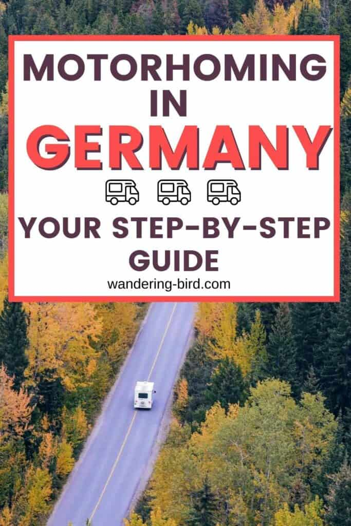 motorhome touring in Germany- complete Guide