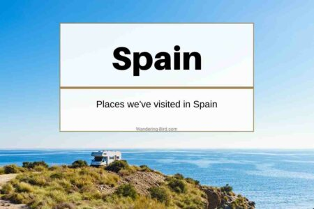 Motorhome travel in Spain