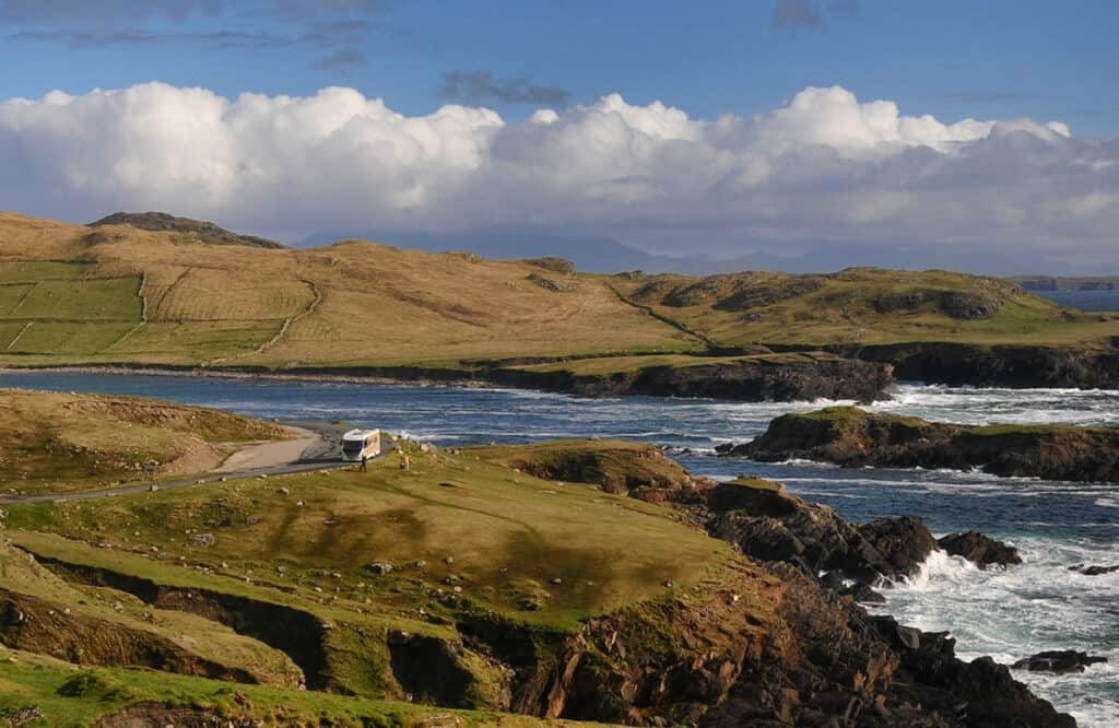 motorhoming in Ireland - Complete guide for touring Ireland in a motorhome or campervan