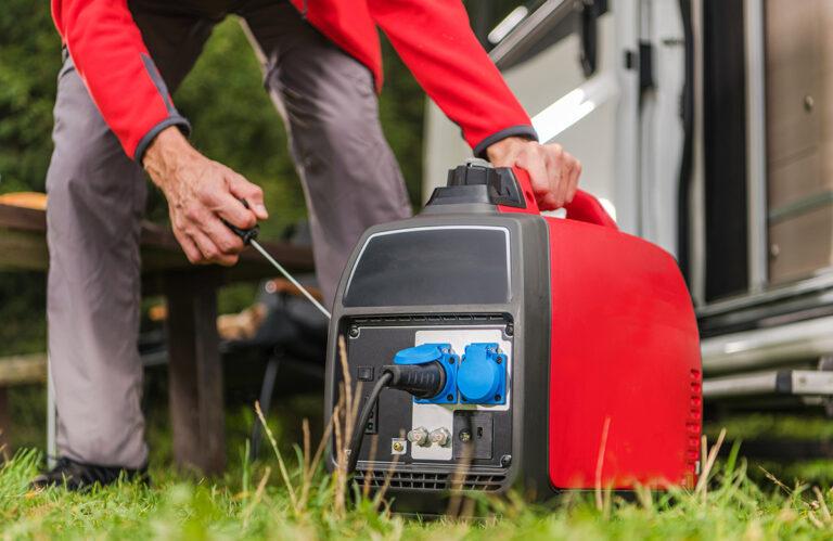 Motorhome Generator- how to choose and use the best motorhome and campervan generators in UK