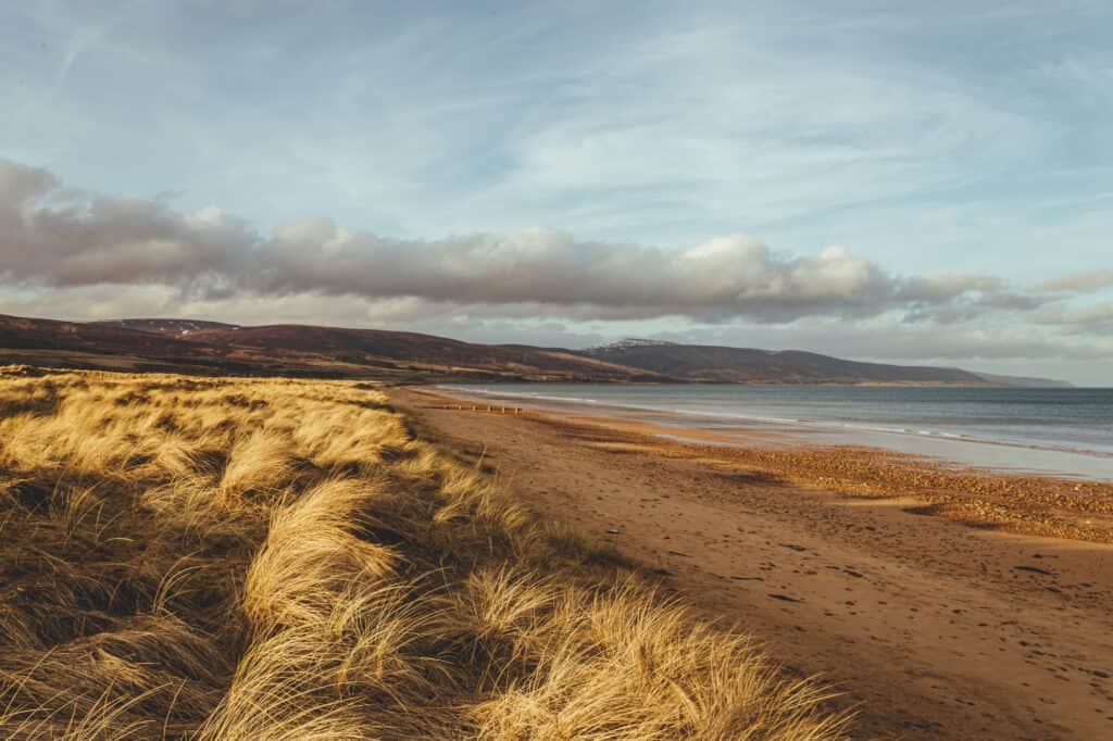 Brora Beach, Scotland