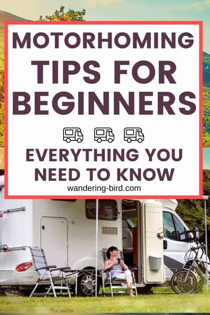 New to motorhomes? Need newbie advice? Here are 27 best motorhome tips for beginners, plus some motorhome tips and tricks for everyone! Motorhome tips | Campervan tips and tricks