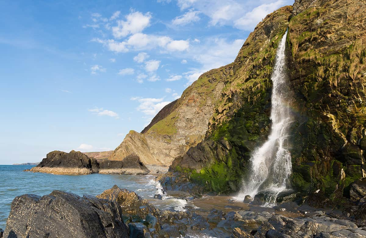 Coastal Way Wales- one of the highlights on the driving route