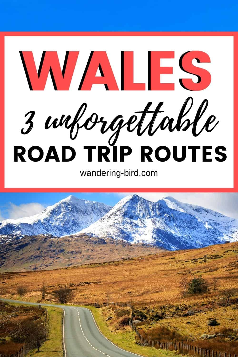 Planning a road trip to Wales with a car, motorhome, campervan or caravan? Want to know more about the Wales Way- the national driving routes in Wales? Confused about which one is best for you? Here's everything you need to know about touring the Wales Way with a vehicle, details about the three routes (North Wales Way, Cambrian Way and Coastal Way- with map!), plus places in Wales to visit and where to stay.