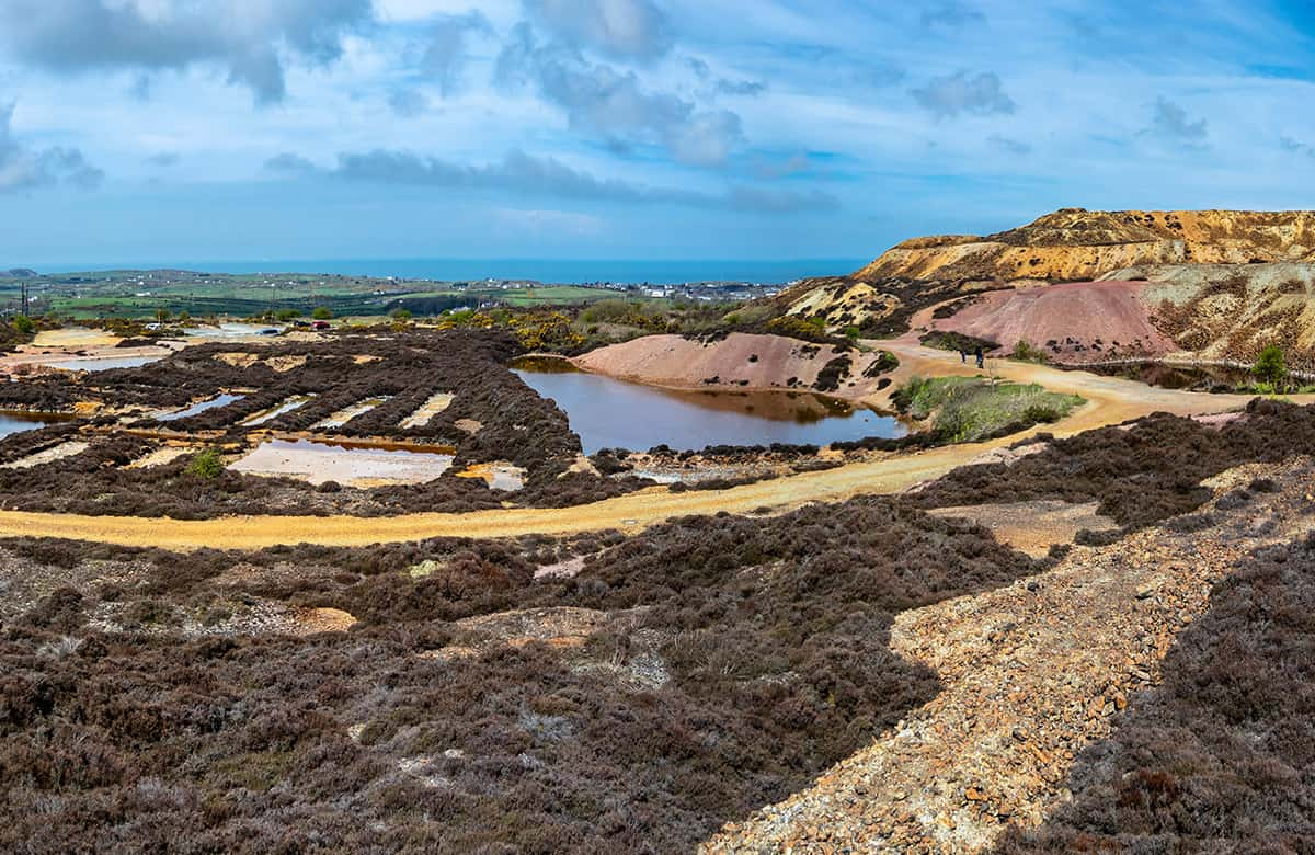 Parys Mine Anglesey- one of the best places to visit in North Wales