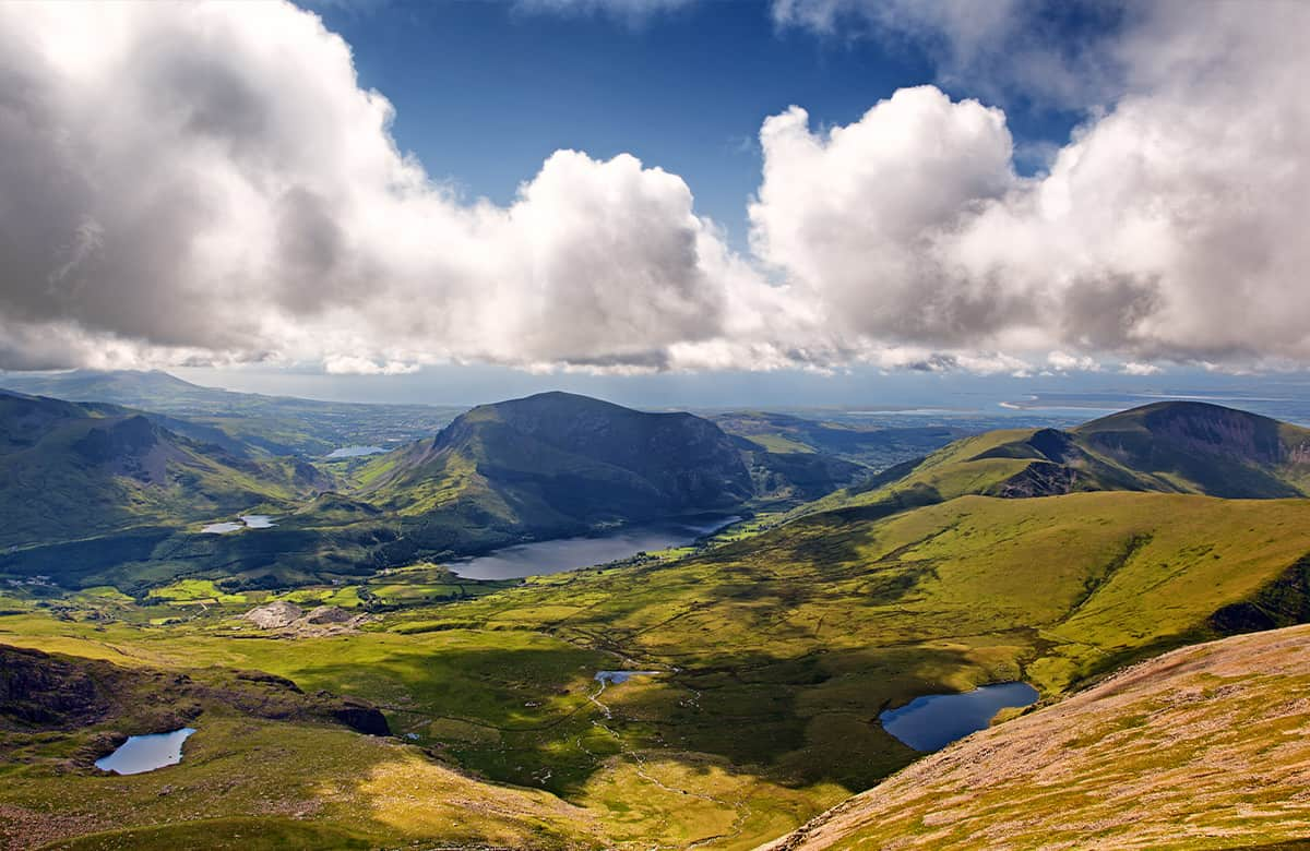 Snowdonia- one of the best places to visit on the Cambrian Way