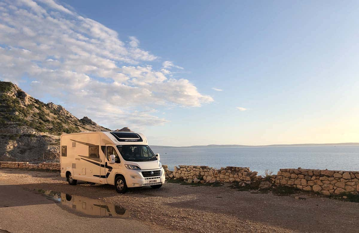 Croatia Motorhome Tour- best places to visit