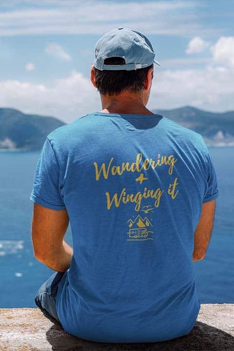men vanlife t-shirt