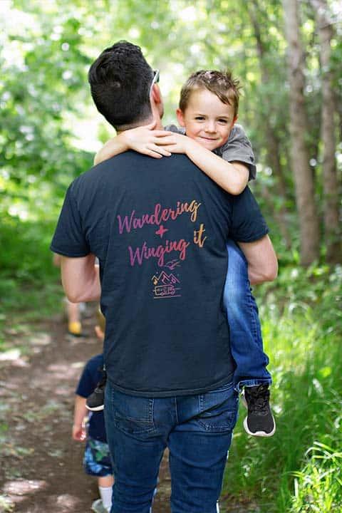 unisex vanlife motorhome t-shirt