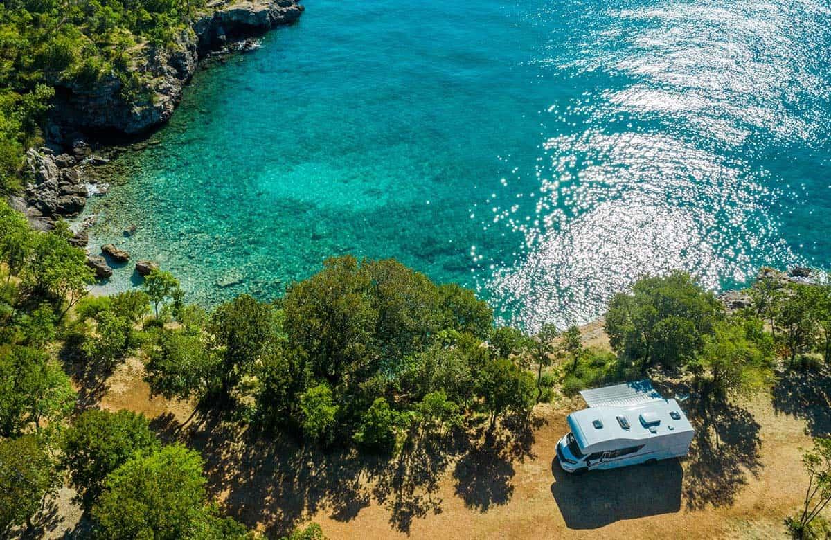 motorhoming and campervanning in croatia- complete guide